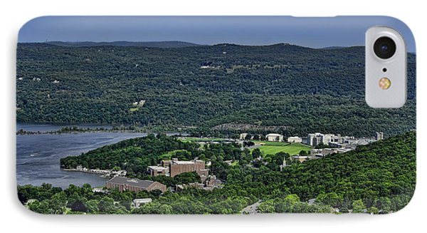 West Point From Storm King Overlook IPhone Case by Dan McManus