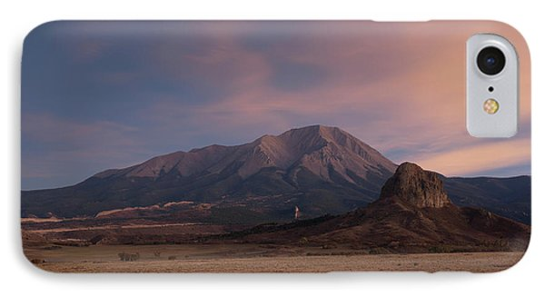 IPhone Case featuring the photograph West Spanish Peak Sunset by Aaron Spong