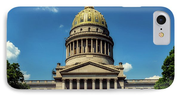 West Virginia Capitol - Charleston IPhone Case by L O C