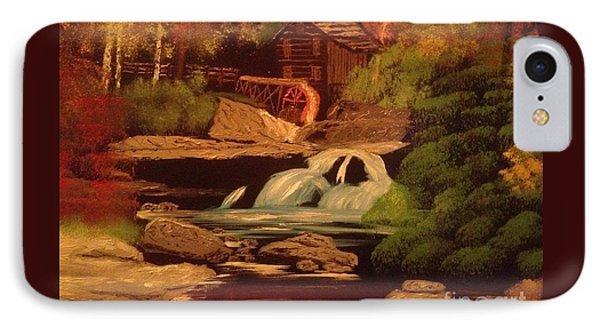 West Virginia Grist Mill Phone Case by Tim Blankenship