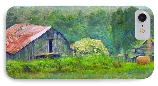 West Virginia Homestead IPhone Case by Judy Coggin