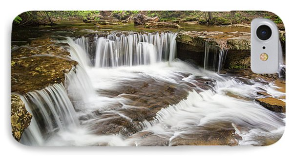 West Virginia Waterfall - Mash Fork Falls IPhone Case by Bill Swindaman