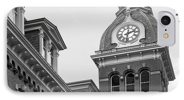 West Viriginia University Clock Tower IPhone Case by University Icons