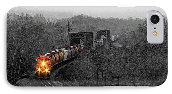 Westbound Grain IPhone Case by Brad Allen Fine Art