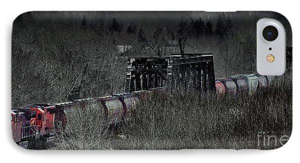 Westbound Grain II IPhone Case by Brad Allen Fine Art