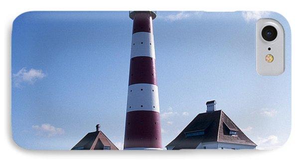 Westerhever Beacon IPhone Case by Heiko Koehrer-Wagner