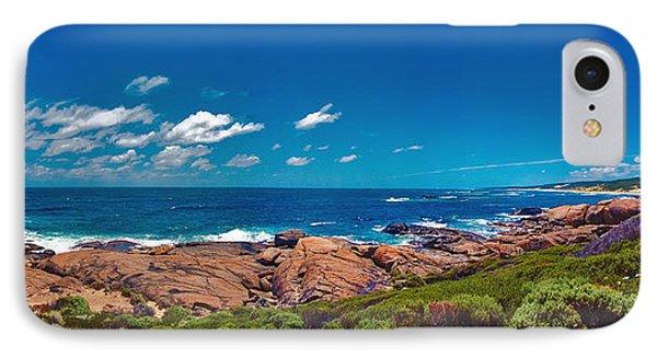 IPhone Case featuring the photograph Western Australia Beach Panorama Margaret River by David Zanzinger