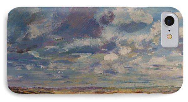 Skies Westward IPhone Case by Helen Campbell