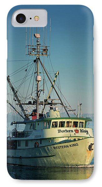 IPhone Case featuring the photograph Western King At Breakwater by Randy Hall