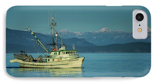 IPhone Case featuring the photograph Western King At French Creek by Randy Hall