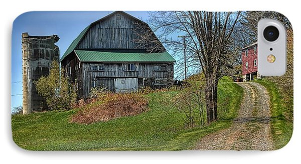 Western Pennsylvania Country Barn IPhone Case