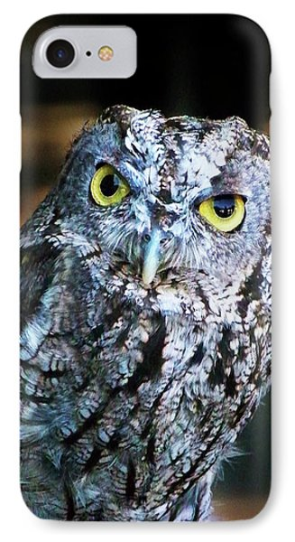 IPhone Case featuring the photograph Western Screech Owl by Anthony Jones