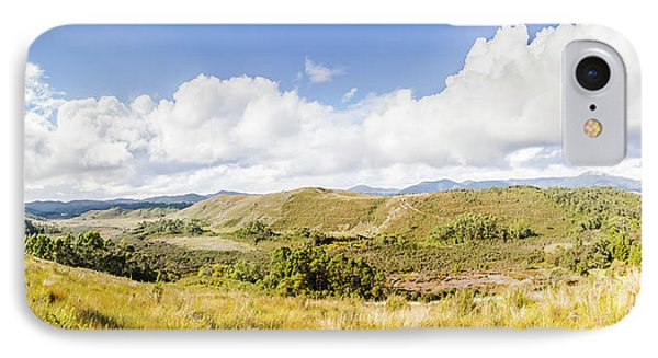 Western Tasmania Panorama IPhone Case by Jorgo Photography - Wall Art Gallery