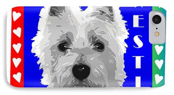 Westie Tshirt IPhone Case