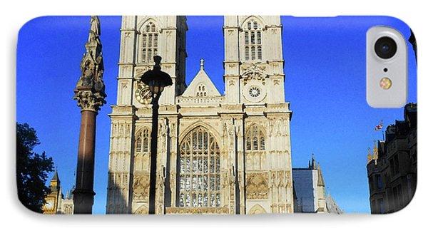 Westminster Abbey iPhone 7 Case - Westminster Abbey London England by Irina Sztukowski