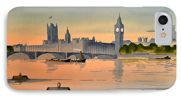 Westminster And Big Ben 1 IPhone Case by Bill Holkham