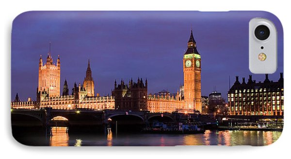 Westminster At Sundown IPhone Case by Shawn Everhart