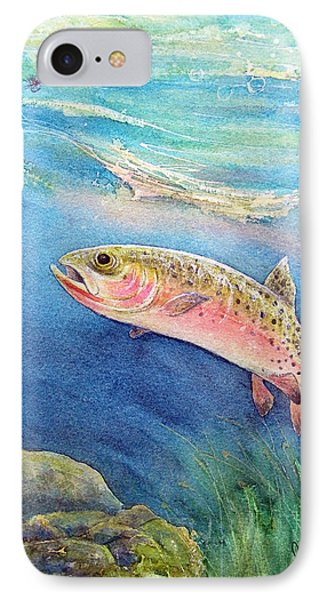 Westslope Cutthroat Phone Case by Gale Cochran-Smith