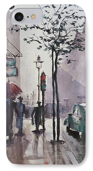 Wet Afternoon IPhone Case by Geni Gorani