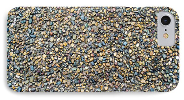 Wet Beach Stones IPhone Case by John Williams