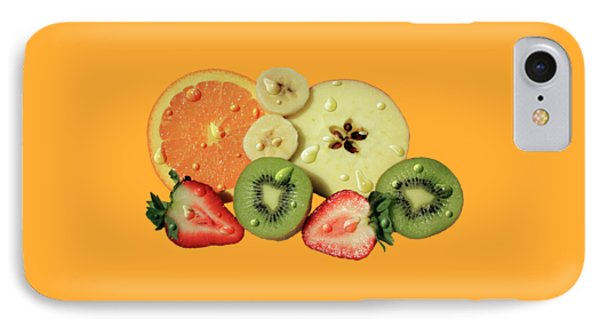 IPhone Case featuring the photograph Wet Fruit by Shane Bechler