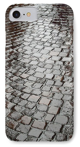 IPhone Case featuring the photograph Wet Lucca Street by Michael Flood