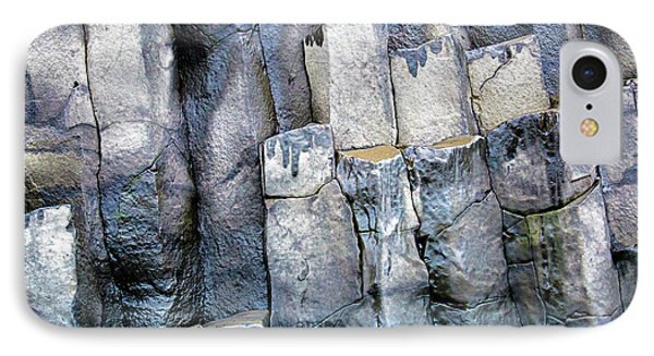 IPhone 7 Case featuring the photograph Wet Rocks 2 by Hitendra SINKAR