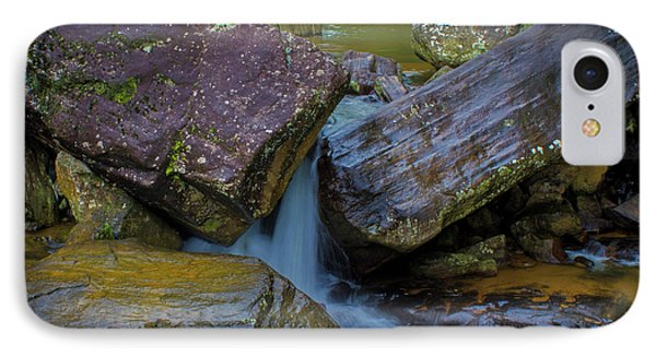 IPhone 7 Case featuring the photograph Wet Rocks 3, Sri Lanka, 2012 by Hitendra SINKAR