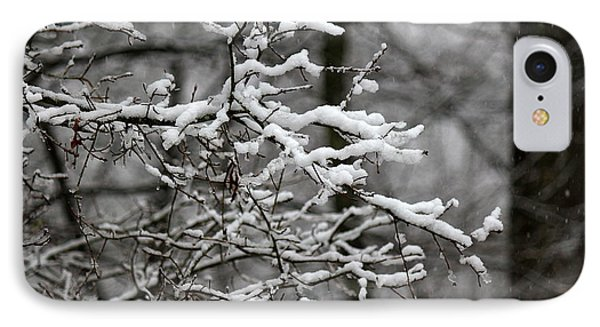 IPhone Case featuring the photograph Wet Snow by Greg Simmons