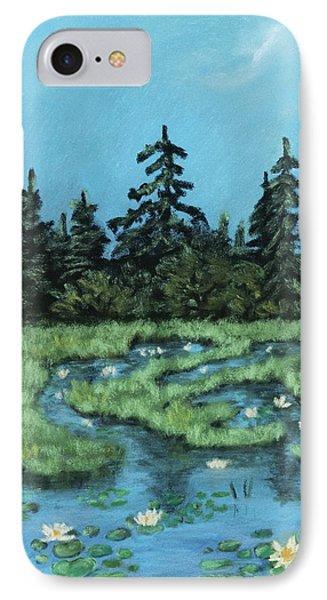 IPhone Case featuring the painting Wetland - Algonquin Park by Anastasiya Malakhova
