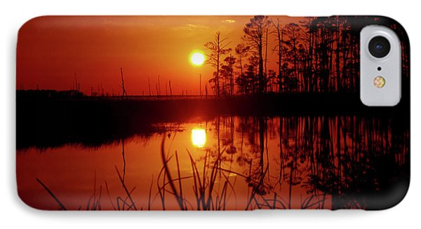 IPhone Case featuring the photograph Wetland Sunset by Robert Geary