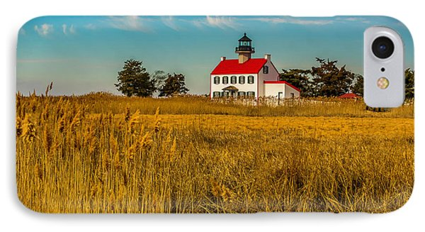 IPhone Case featuring the photograph Wetlands At East Point Light by Nick Zelinsky