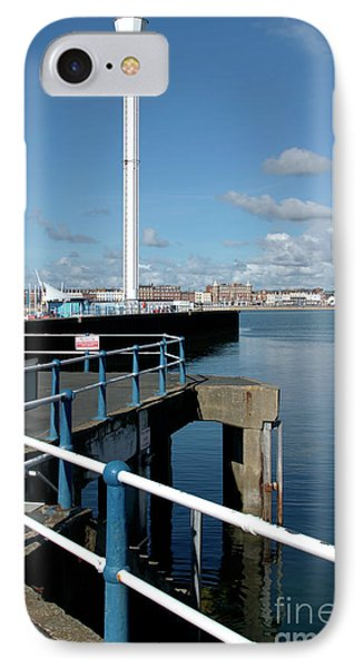 Weymouth Pavillion Pier And Tower IPhone Case by Baggieoldboy