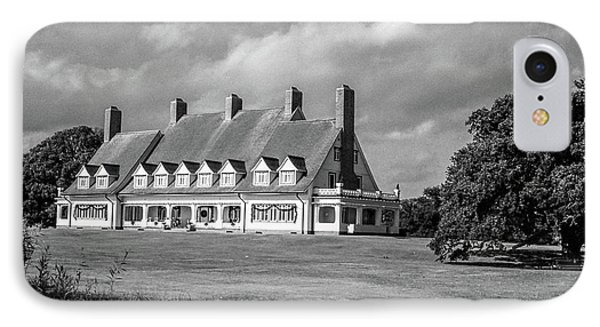 Whalehead Club IPhone Case by David Sutton