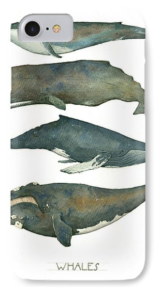 Whales Poster IPhone 7 Case