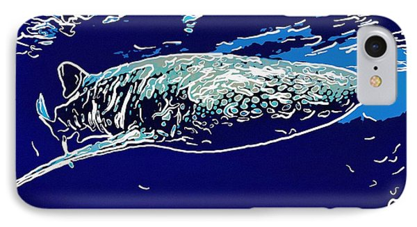 Whaleshark  IPhone Case by Lanjee Chee