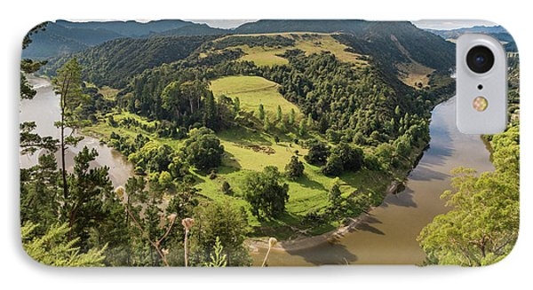 IPhone Case featuring the photograph Whanganui River Bend by Gary Eason
