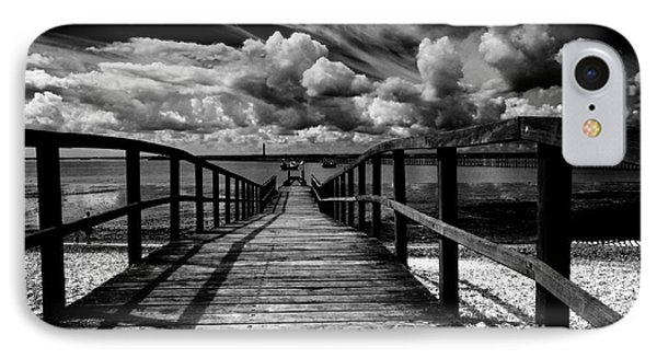 Wharf At Southend On Sea Phone Case by Avalon Fine Art Photography