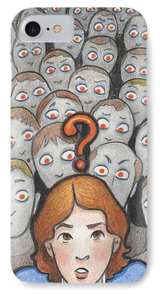 What Phone Case by Amy S Turner