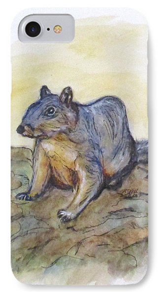 What Are You Looking At? IPhone Case by Clyde J Kell