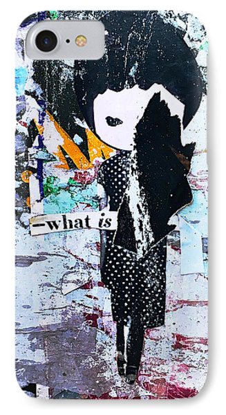 What Is ... IPhone Case by JoAnn Lense