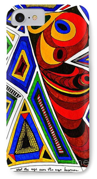 What The Eye Sees Phone Case by Sarah Loft