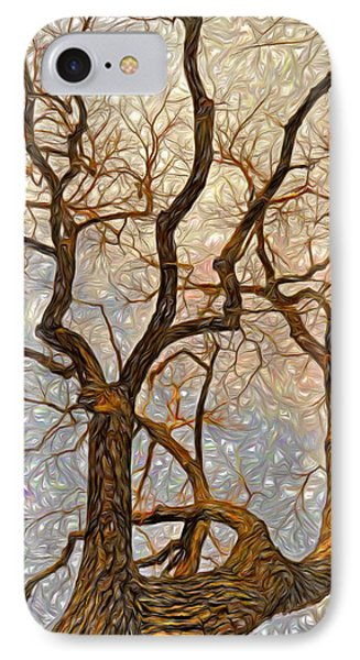 IPhone Case featuring the digital art What We See The Mind Believes by James Steele