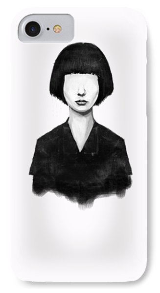 Portraits iPhone 7 Case - What You See Is What You Get by Balazs Solti