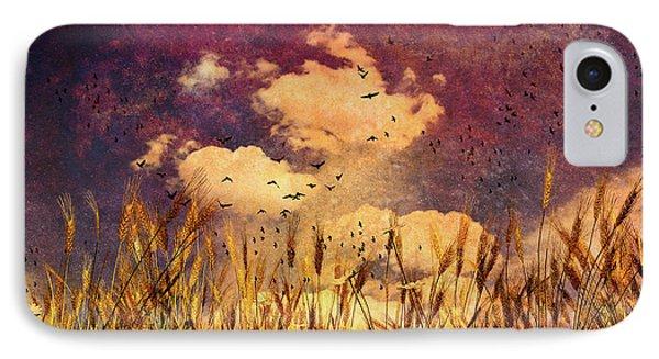 Wheat Field Dream Phone Case by Bob Orsillo