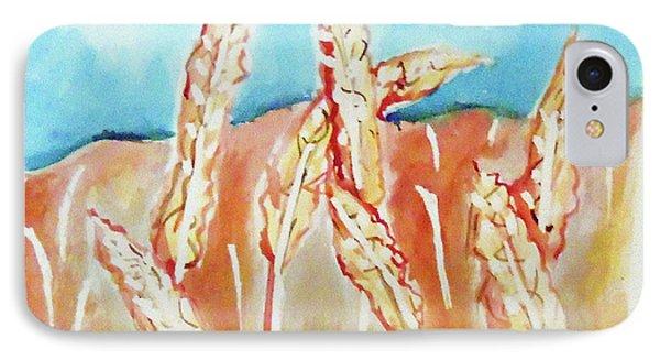 Wheat Field Phone Case by Loretta Nash