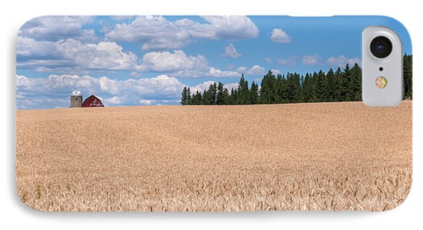 Wheat Fields IPhone Case by Sharon Seaward
