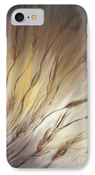 Wheat In The Wind Phone Case by Nadine Rippelmeyer