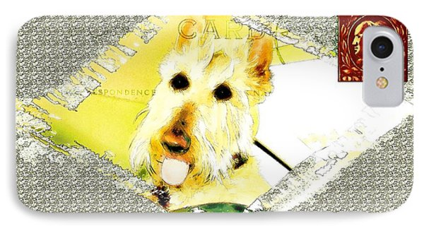 Wheaten Scottish Terrier - During Sickness And Health IPhone Case by Image Takers Photography LLC - Carol Haddon and Laura Morgan