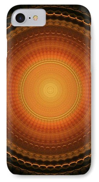 Wheel Kaleidoscope IPhone Case by Wim Lanclus